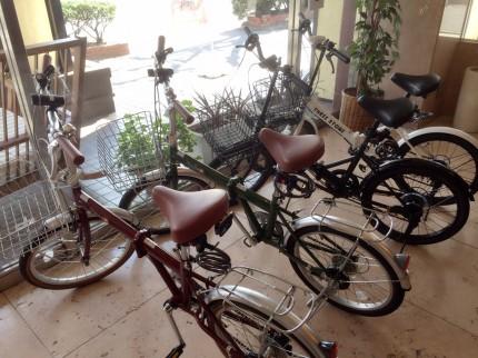 自転車4台